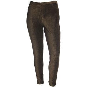 Comfort Waist Mid-Rise Corduroy Leggings Plus Size